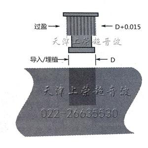 超聲波焊接:埋植